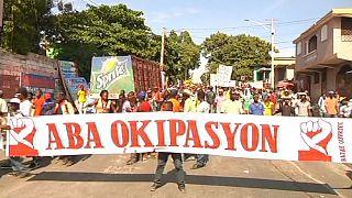 Первая жертва антиправительственных протестов на Гаити