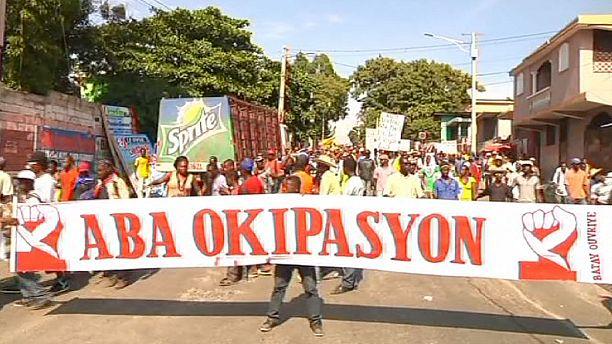 Haiti PM resignation speech delayed