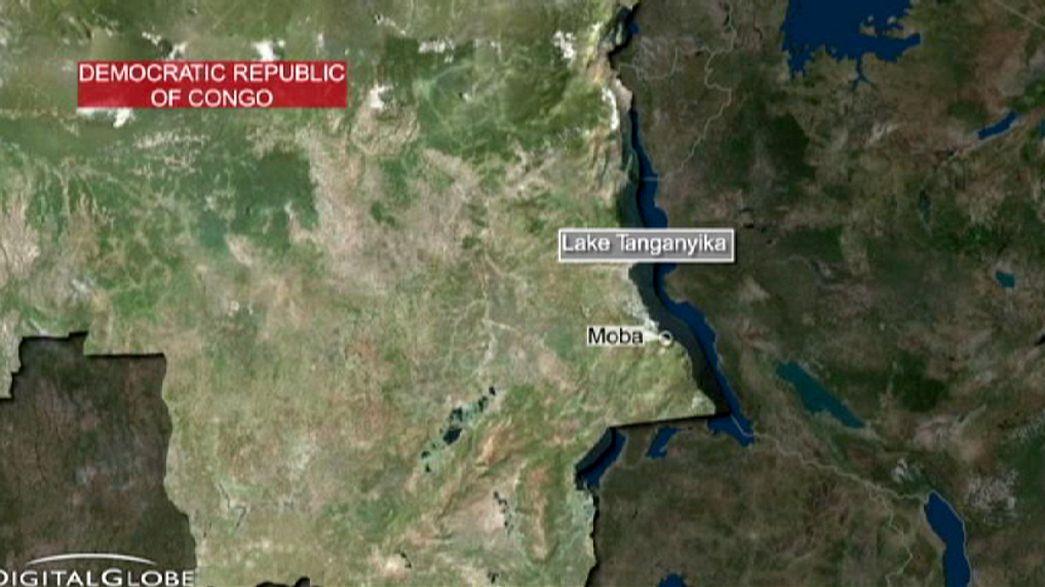 Las autoridades congoleñas aumentan a 129 el número de víctimas mortales por un naufragio