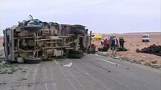 Un accidente de autobus en Argelia acaba con la vida de al menos 11 personas