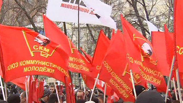 Moskova'da doktorlar bütçe kesintilerini protesto etti