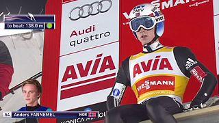 Salto con gli sci: Severin Freund piu' forte anche del vento