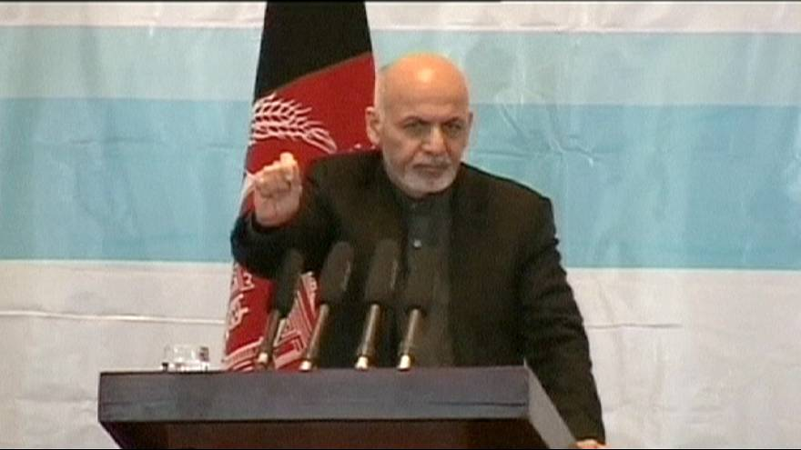 "President Ghani fiercely attacks the Taliban and calls their violence ""un-Islamic"""