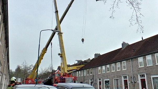 Proposta di matrimonio con catastrofe in Olanda