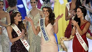 Miss South Africa is crowned Miss World 2014
