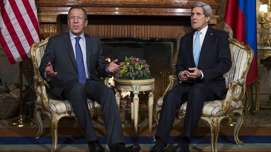 Kerry-Lavrov ikilisi Filistin'i görüştü