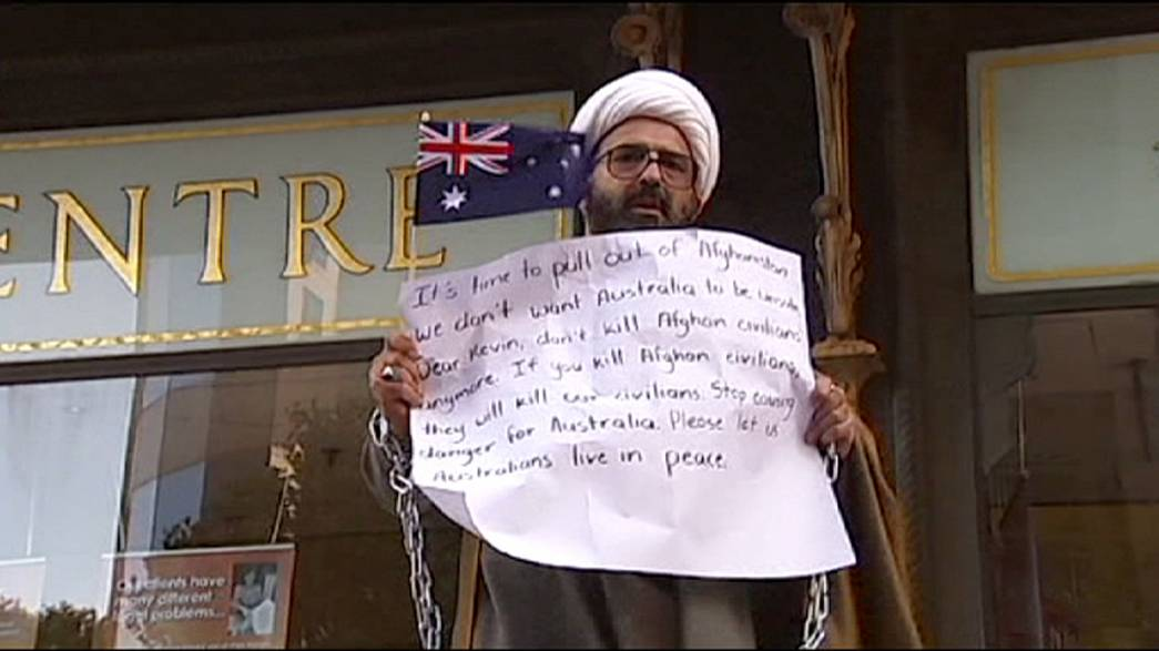 Un refugiado iraní simpatizante del grupo Estado Islámico pone en jaque a Australia
