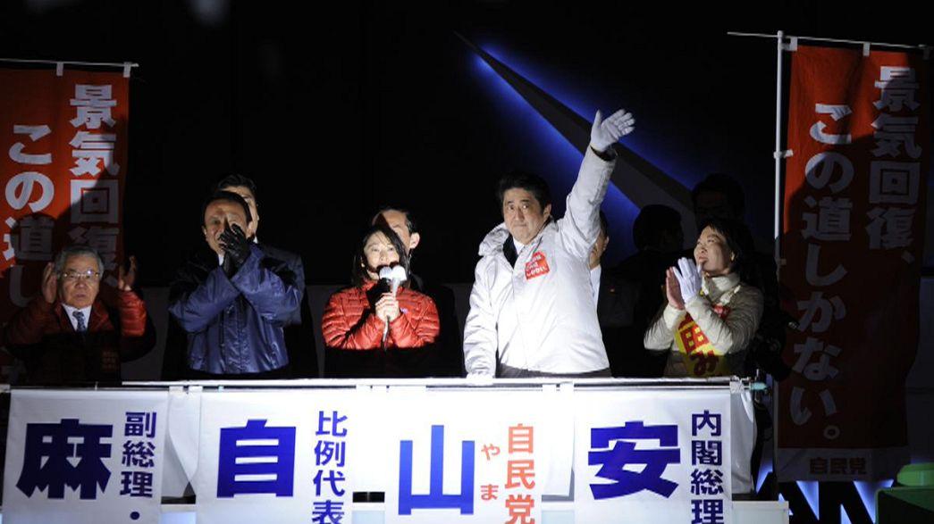 """Japon : """"le bon"""" et """"le mauvais"""" Shinzō Abe"""