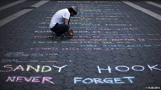 Sandy Hook families sue gun manufacturer two years on from mass school shooting