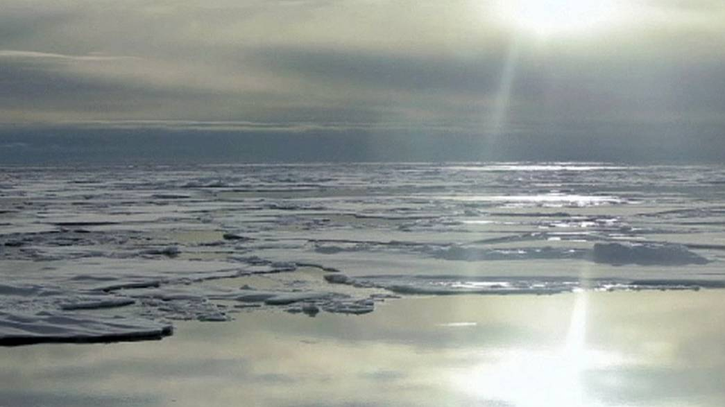 Denmark lays claim to part of the Arctic amid fears shifting ice could cause a rift in diplomatic relations