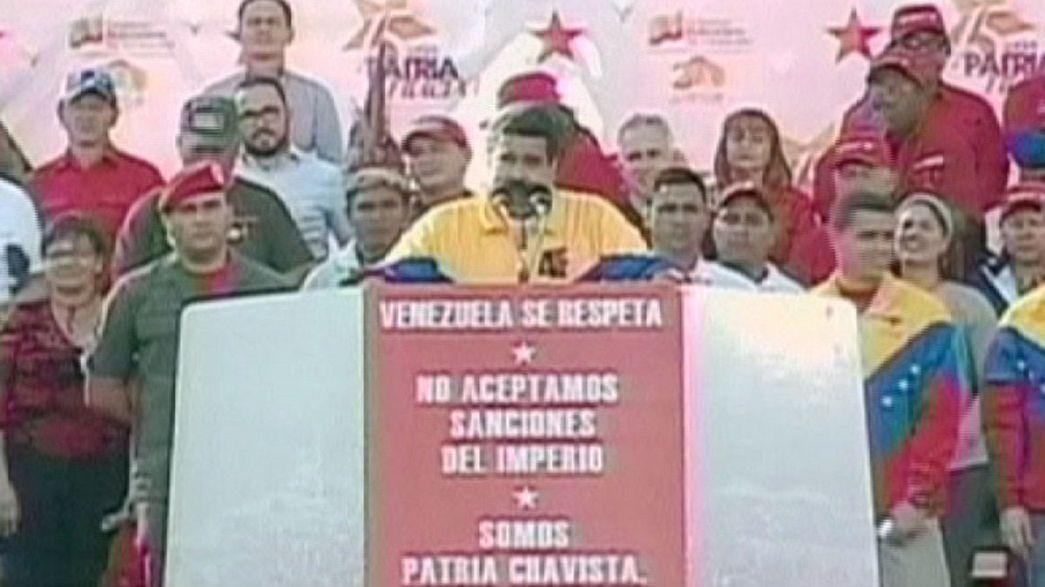 "Anti-USA-Proteste in Venezuela: ""Arrogante Yankee-Imperialisten!"""