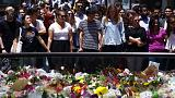 Tristesse, hommage et recueillement à Sydney