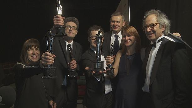 Europe's rich cinema  talent in the frame at  European Film Awards in Riga