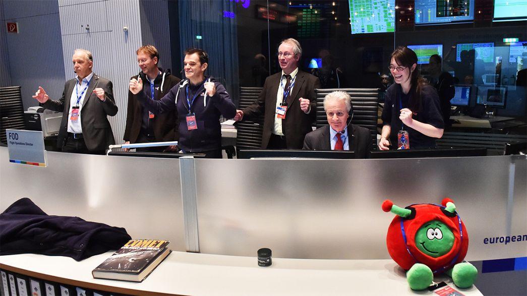"""El equipo de Rosetta es """"la persona del año"""" de euronews"""