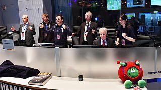 euronews` Persönlichkeit des Jahres: Rosetta-Team