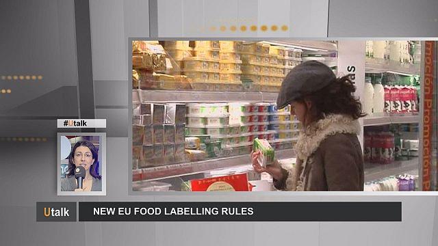 UE : Nouvelles règles d'étiquetage des denrées alimentaires