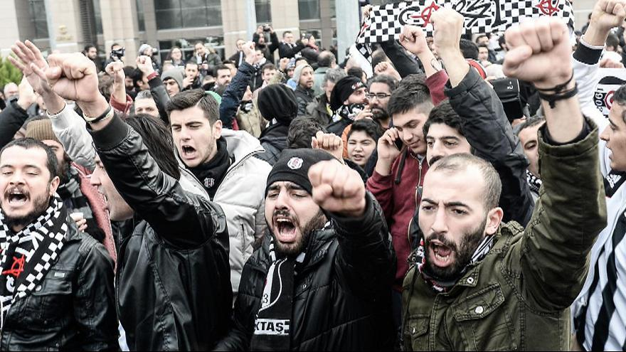 آغاز محاکمه هواداران بشیکتاش ترکیه به اتهام اتهام اقدامات ضد دولتی
