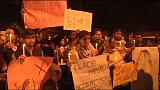 """Hindistan: """"Kadına şiddete hayır"""" yürüyüşü"""