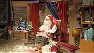 """Babbo Natale chiede di """"proteggere i piccoli"""""""