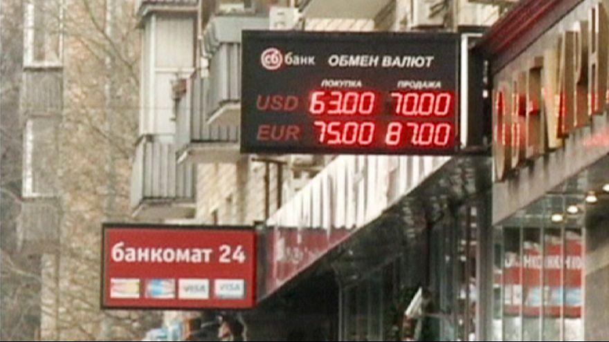 El rublo responde a las medidas de choque de Moscú