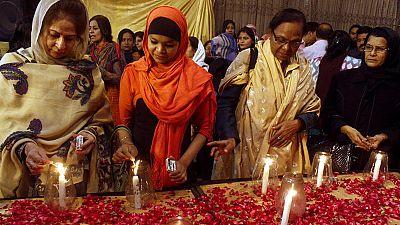 Pakistan begins painful process of burying children massacred by the Taliban