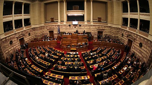 Greek MPs begin voting in close contest to choose next president