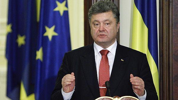 Le président ukrainien prône une intégration euro-atlantique