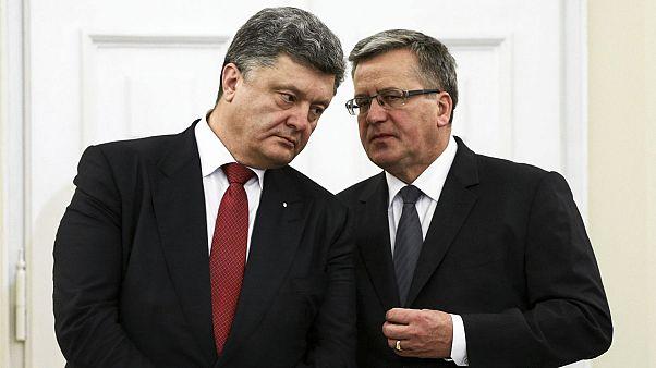 Порошенко в Польше: курс на НАТО и ЕС