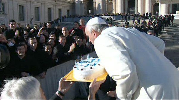 Cumpleaños papal con sabor argentino