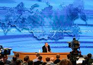 Putin answers press questions on Ukraine, NATO and the Russian economy