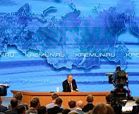 Putin answers press questions on Ukraine NATO and the Russian economy