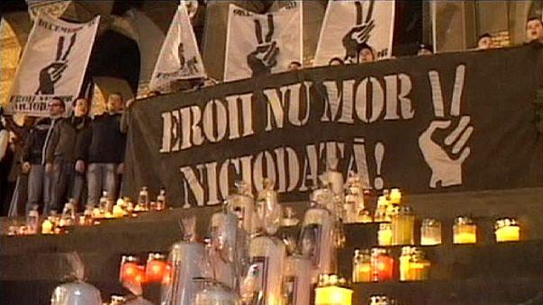 Roménia lembra vítimas e celebra revolução de há 25 anos