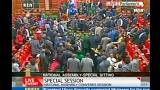 Kenyan MPs trade blows in parliament over tough new security bill