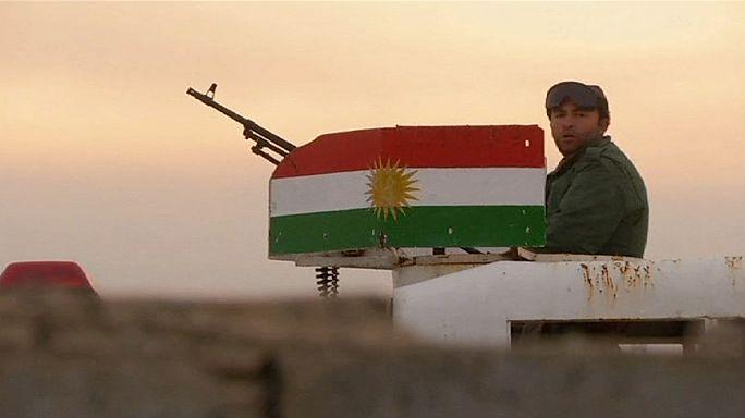 قوات البشمركة تصل إلى سفح جبل سنجار شمال غرب الموصل