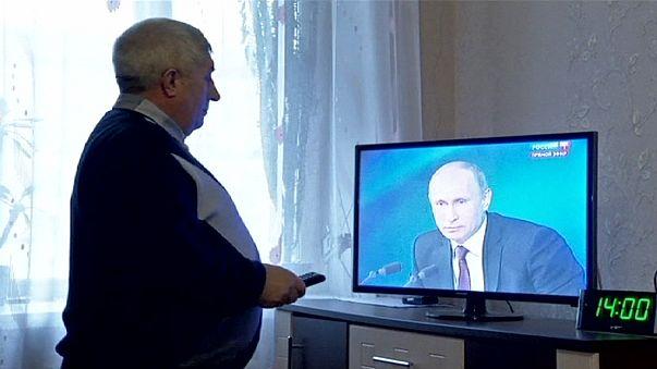 Putin'in yıllık değerlendirmesine yoğun ilgi