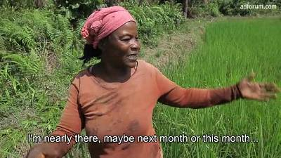 Rice-growing revolution in Liberia  (Oxfam)