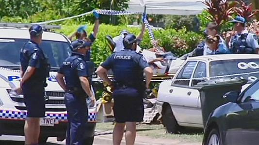 Eight children stabbed to death in Cairns, Australia.