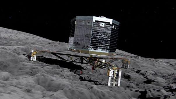 Rosetta 2014'te dünyanın sırrını keşfe çıktı
