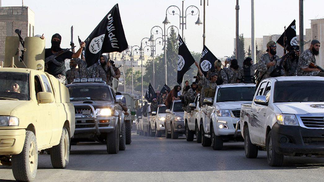 """2014-й: наступление """"Исламского государства"""""""