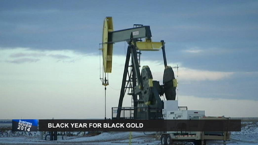Wirtschaftsrückblick 2014: Der Ölpreis bricht ein