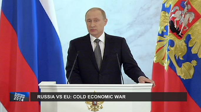 خلاصة أحداث العام الاقتصادية: روسيا والغرب، حرب اقتصادية باردة