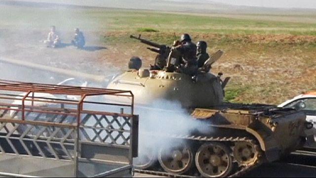 Ирак: курды-езиды спускаются с гор