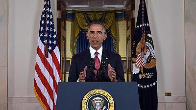 """Obama: """"No podemos tener una sociedad en la que un dictador cualquiera imponga la censura en EEUU"""""""