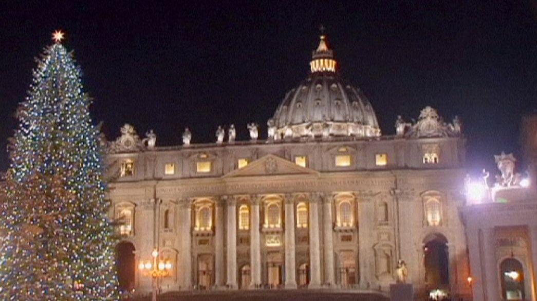 El Vaticano da la bienvenida a la Navidad