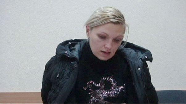 أوكرانيا: توقيف سيدة تحمل متفجرات داخل حقيبة