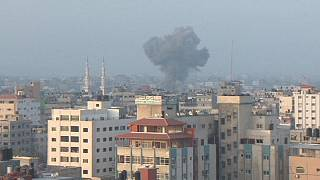 Israel bombs Hamas base in Gaza after rocket attack