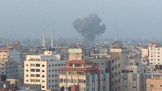 Сектор Газа: первый израильский авиаудар за несколько месяцев