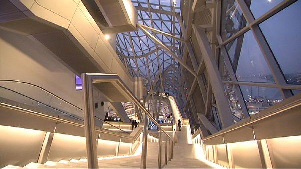 Lyon: Museu des Confluences abre ao público