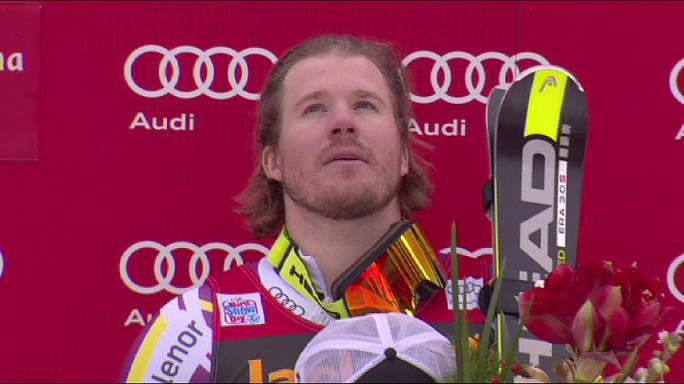 Kjetil Jansrud wins men's super-G in Val Gardena