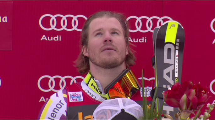 Четиль Янсруд - лучший на трассе супергиганта в Валь Гардене